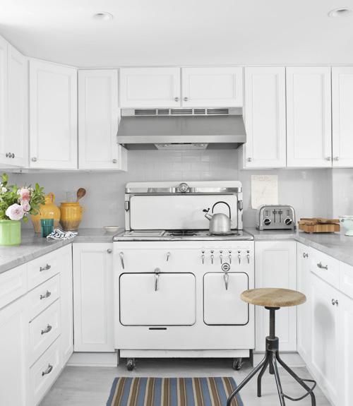 Antes & Después. Una cocina vintage