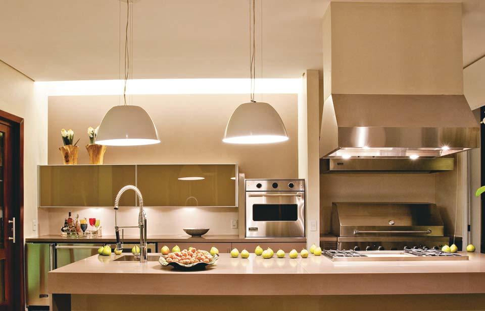 Una buena iluminación en la cocina