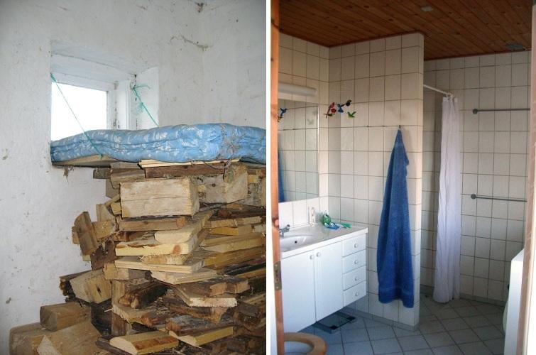 Antes & Después. Ampliar un baño