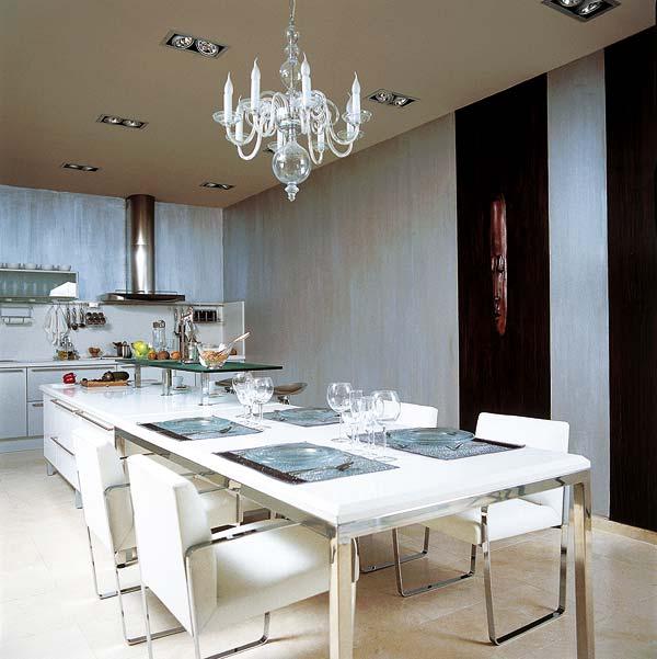 El comedor -en la cocina-