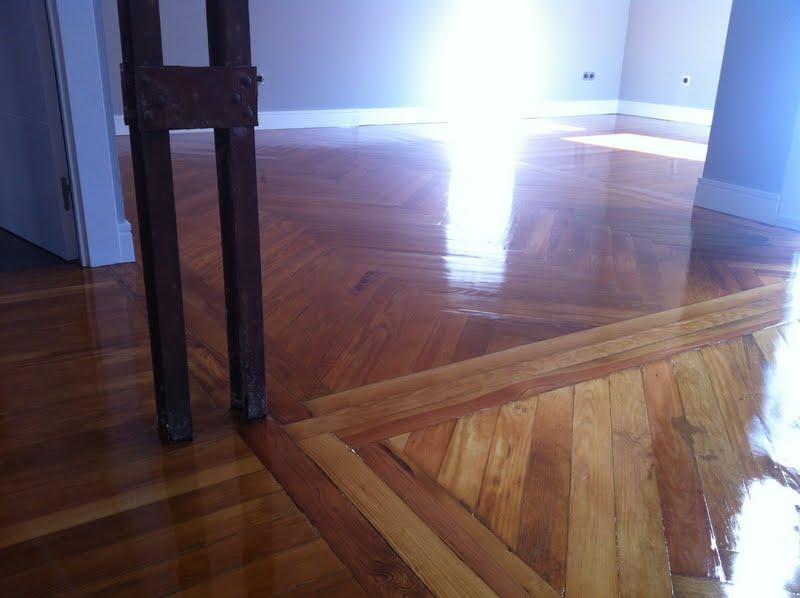 Renovation of Centenarian Flooring
