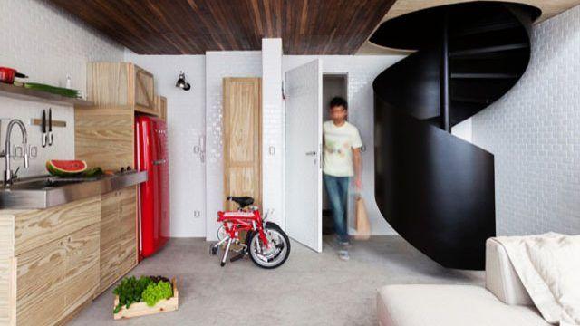 Un apartamento bien aprovechado