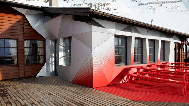 Color  y diseño en los Alpes
