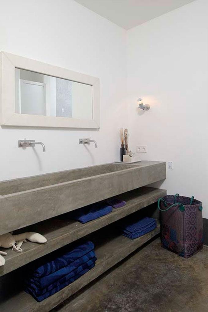 baldas en el baño