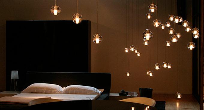 Ideas originales para iluminar el dormitorio