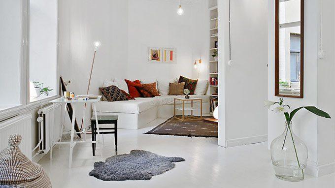 Un apartamento de diseño escandinavo en Gotemburgo