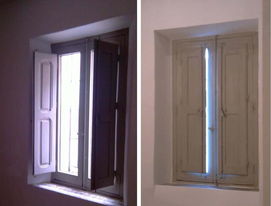 ventanadespués de la restauración
