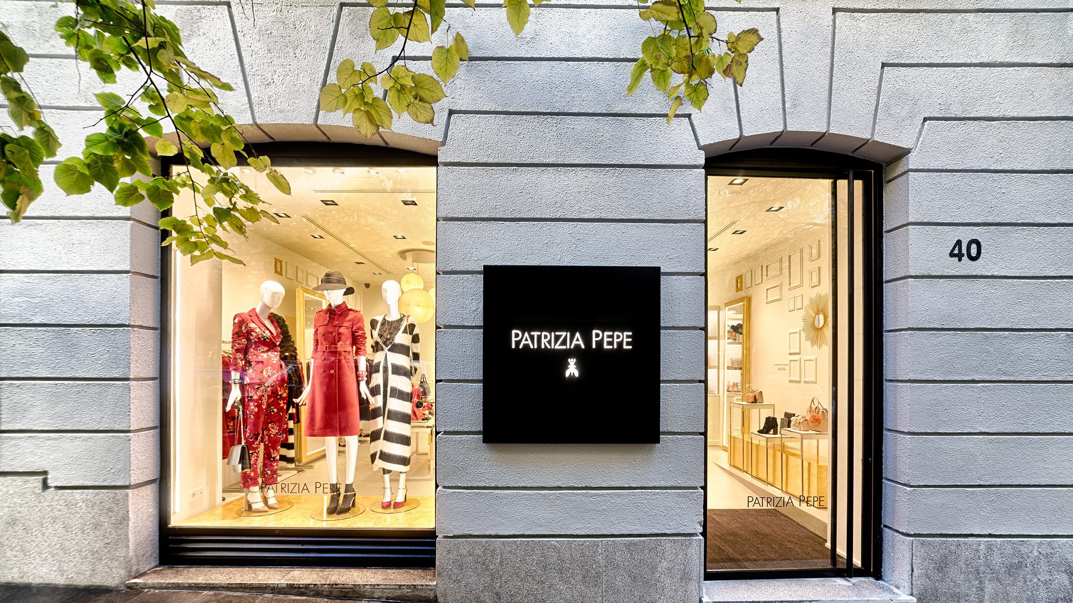 Boutique Patrizia Pepe, barrio de Salamanca, Madrid