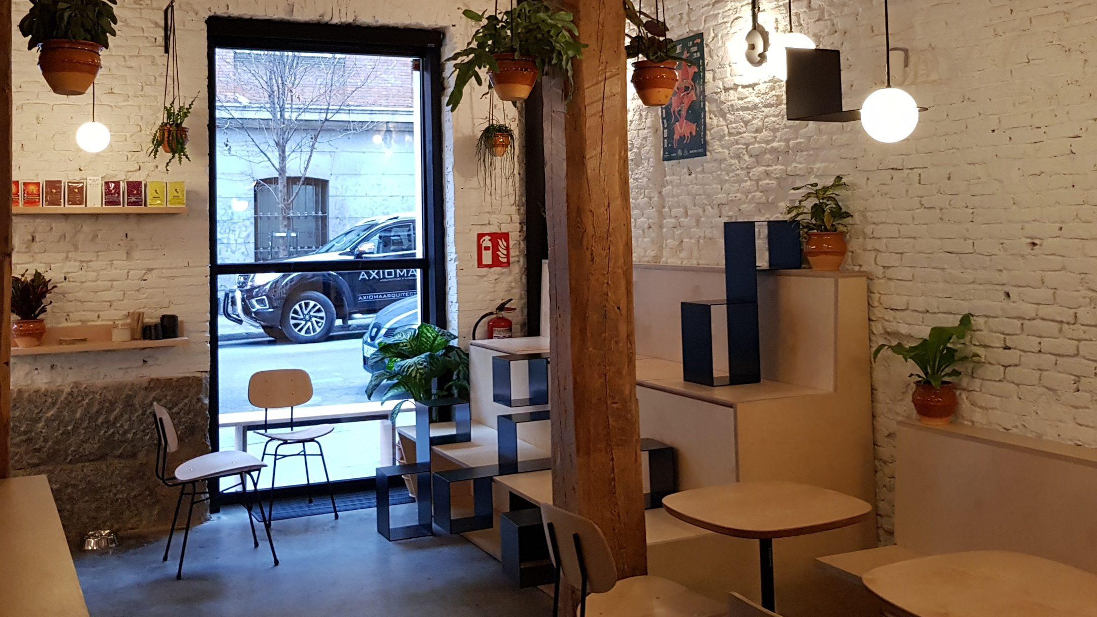 Café Misión Café, barrio de Malasaña, Madrid