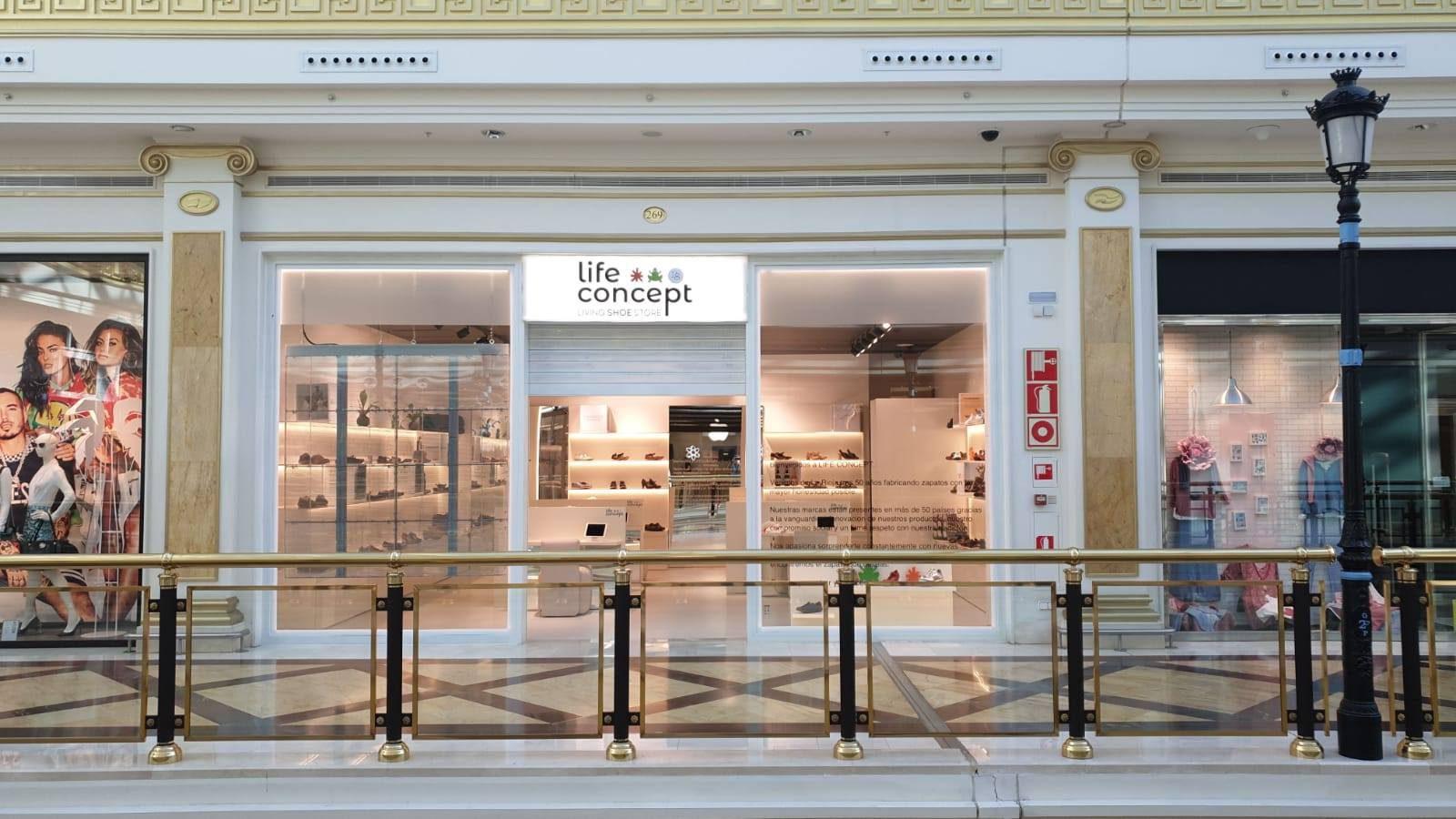 Primera tienda Life Concept en Madrid