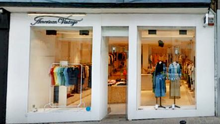 Tienda American Vintage en Gante (Bélgica).