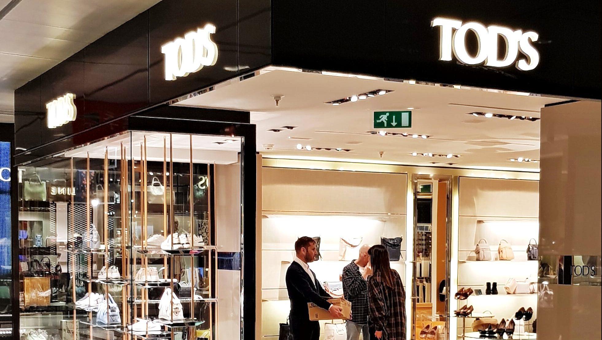 Tod's, El Corte Inglés, Madrid