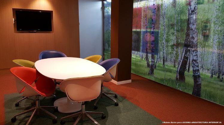 Sala de Innovación, Metlife, Madrid.